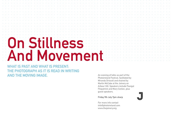 Talk 14: On Stillness and movement: past and present